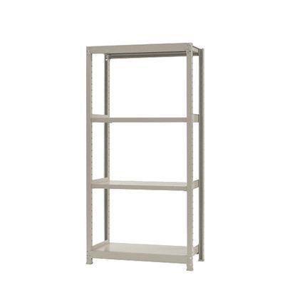 本体 スチールラック 軽中量 200kg-単体 4段/幅900×奥行300×高さ2100mm/KT-KRS-093021-S4