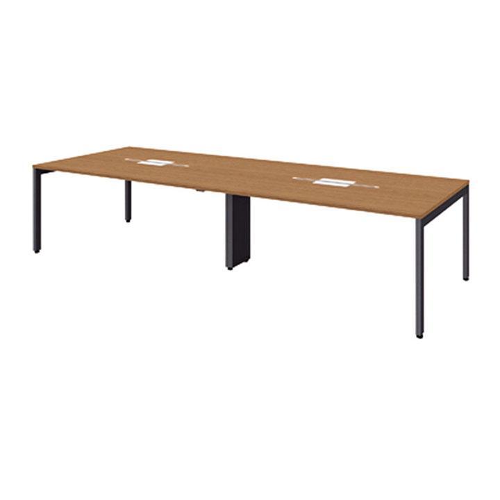 PLUS FV 会議テーブル 幅3600×奥行1200×高さ720mm FV-3612M