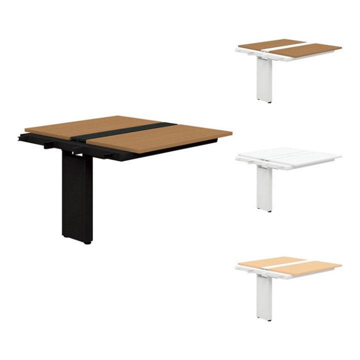 追加/増設用 PLUS Genelaシリーズ 両面ジョイントセット デスク/テーブル デスク/テーブル 幅1000×奥行1225×高さ720mm GE-1012WJ