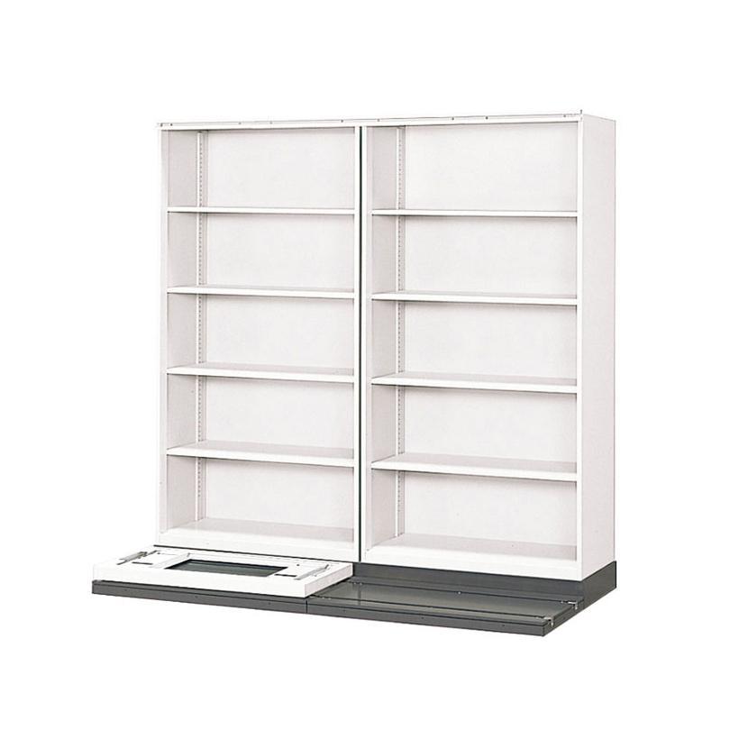 L6 横移動基本型 L6-42YM-K W4 ホワイト 幅1830×奥行710×高さ1895mm