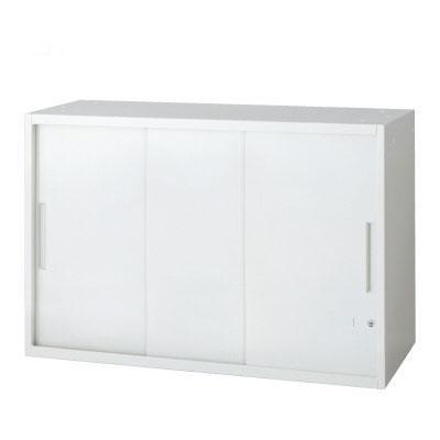 L6 3枚引違い保管庫 L6-70SS L6-70SS W4 ホワイト 幅900×奥行450×高さ720mm