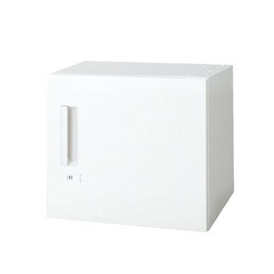 L6 L6 片開き保管庫 L6-A40ACR W4 ホワイト 幅450×奥行400×高さ400mm