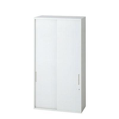 L6 引違い保管庫 L6-E120S L6-E120S W4 ホワイト 幅800×奥行450×高さ1210mm