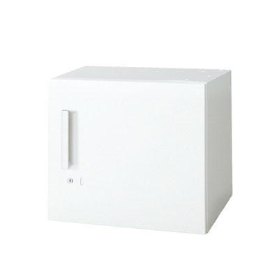 L6 片開き保管庫 片開き保管庫 L6-E40ACR W4 ホワイト 幅400×奥行450×高さ400mm