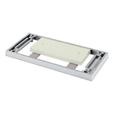 L6 安定ベース L6-F11AB L6-F11AB M4 シルバー 幅900×奥行587×高さ56mm