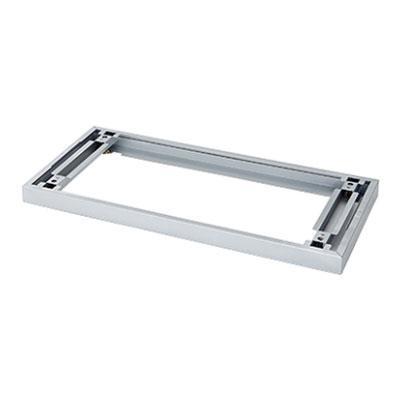 L6 スライドベース スライドベース L6-G11S M4 シルバー 幅800×奥行377×高さ50mm