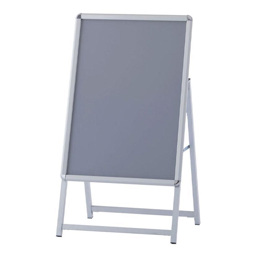ポスターフレーム 片面 A型スタンド A1 自立式 フレームスタンド メニューボード 幅651×奥行539×高さ1174mm RFSNFSK-A1