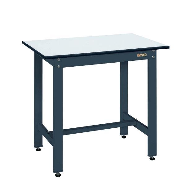 サカエ サカエ サカエ 軽量作業台 ワークテーブル KHタイプ ポリエステル天板 均等耐荷重350kg 幅900×奥行600×高さ800mm KH-38PD 330