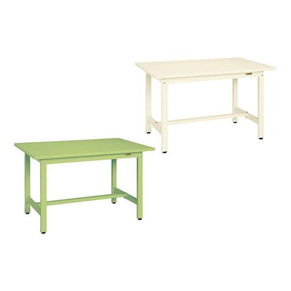 サカエ 軽量作業台 作業用テーブル KSタイプ 均等耐荷重300kg 幅1200×奥行600×高さ740mm KS-126S