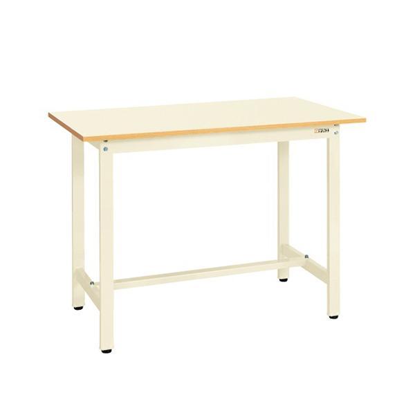 サカエ 軽量立作業台 ワークテーブル KSDタイプ 均等耐荷重300kg 幅1500×奥行750×高さ900mm KSD-157PI