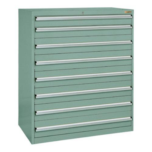 サカエ 重量キャビネットSKV10タイプ 業務用棚 SKV10-1282ANG 幅1000×奥行550×高さ1200mm