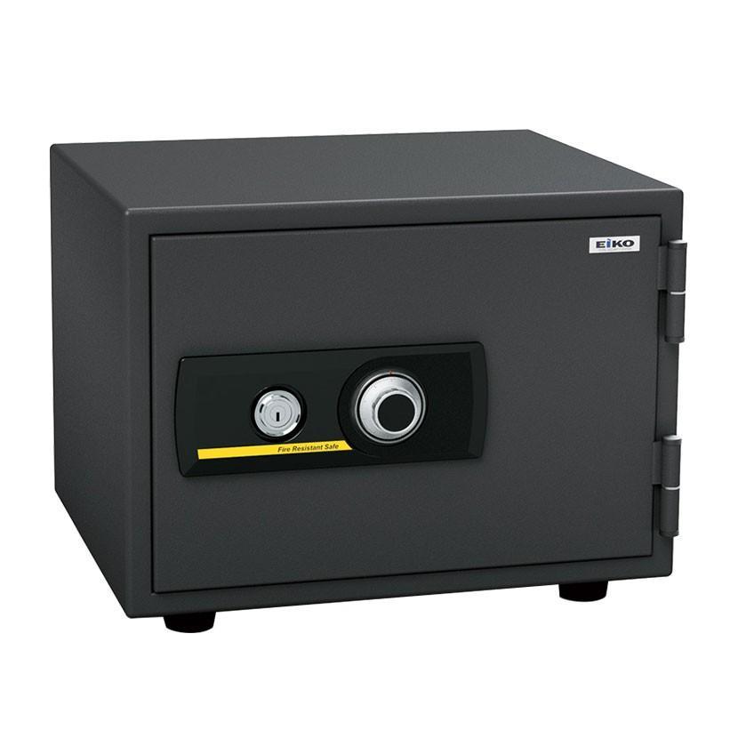 エーコー 家庭用 小型 耐火金庫 ダイヤル式 A4用紙収納可/BSS