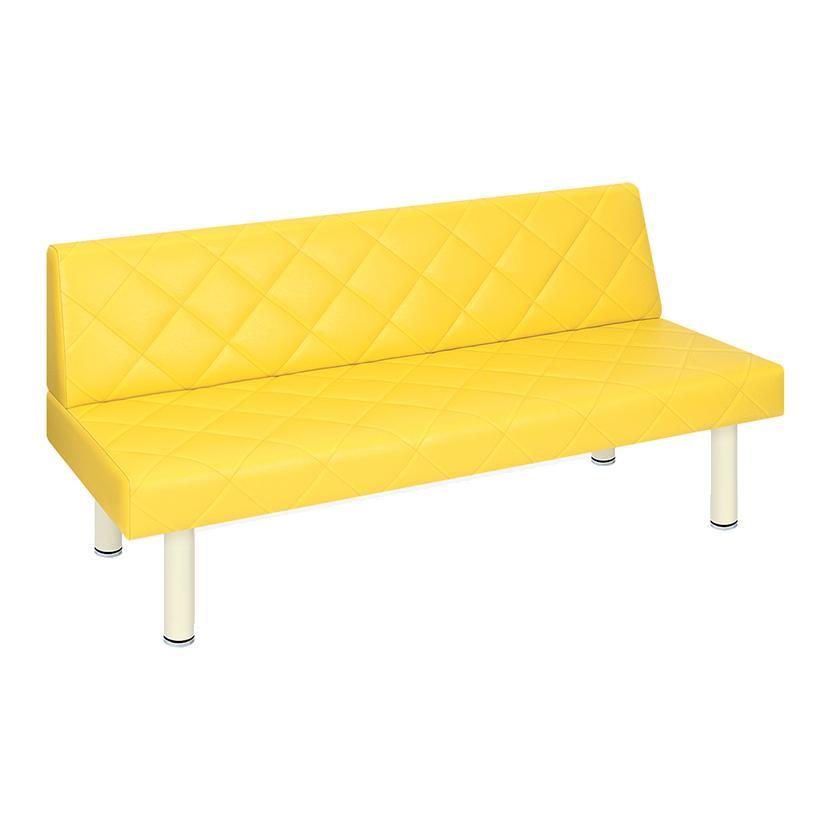 高田ベッド ソファー·チェア TB-1178-01 フィンキルト(01) 直径6cmスチール製極太脚 高耐久 業務用 キルト仕上 サイズ/カラー(18色)選択可能