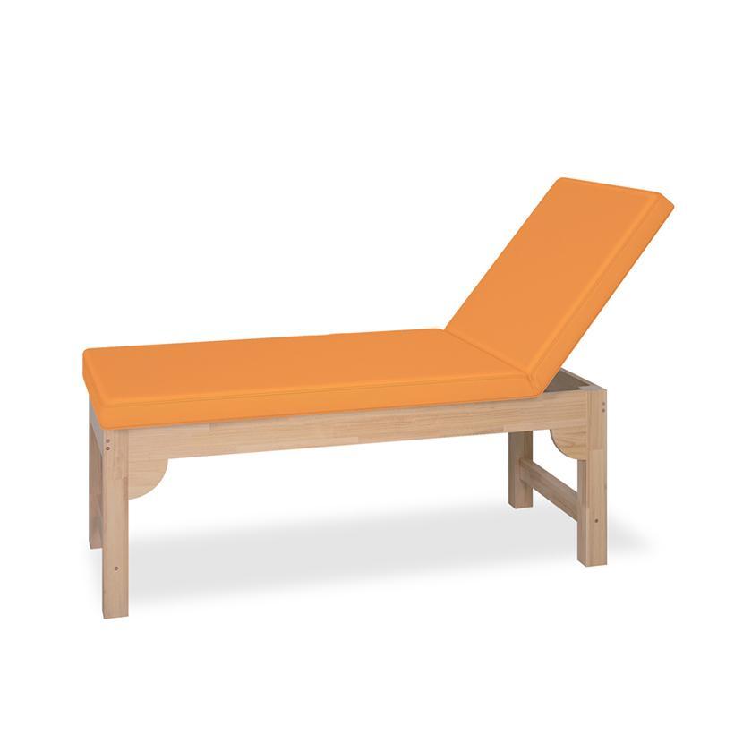 高田ベッド モクベッドL 診察/施術台 オール木仕様 15段階ラチェット式角度調節機能付 TB-1374 サイズ/カラー(18色)選択可能