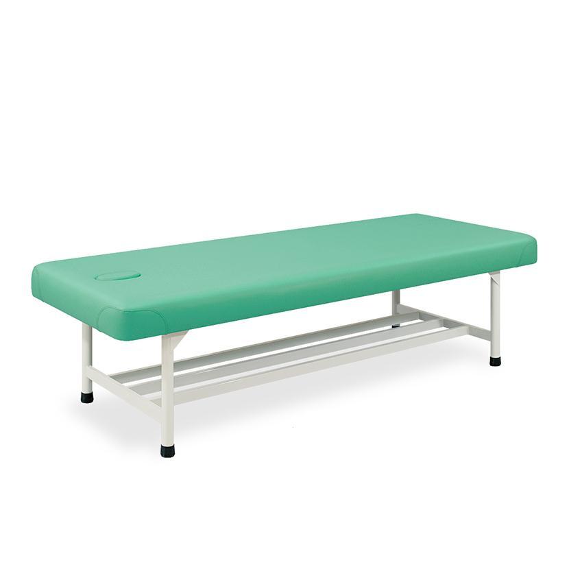 高田ベッド アスリート診察/施術台 高反発・高密度ウレタンフォーム仕様 パイプ棚付属 SD TB-1535 サイズ/カラー(18色)選択可能