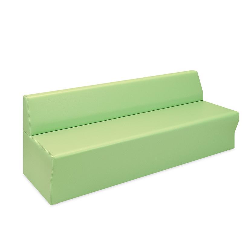 高田ベッド ソファー·チェア TB-803-04 ロビーSD(04) 待合室 座部スリット加工 汚れ防止 サイズ/カラー(18色)選択可能