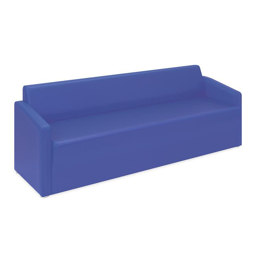 高田ベッド ソファー・チェア TB-821-03 ロビーMD(03) ロビーMD(03) 傾斜背もたれで安定感抜群 座部スリット加工 両肘掛け仕様 サイズ/カラー(18色)選択可能