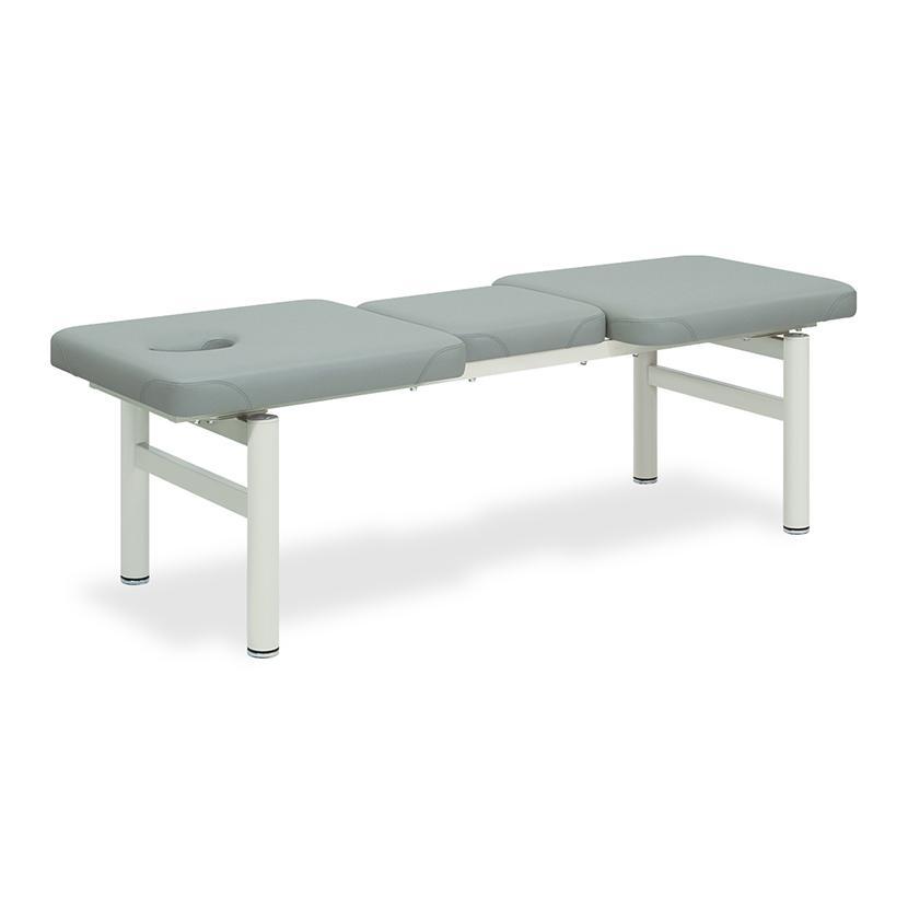 高田ベッド フロント 診察/施術台 有孔タイプ 3セクションシート採用 ベストポジション かどまる加工仕様 TB-970U サイズ/カラー(18色)選択可能