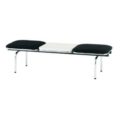 ロビーチェア/2人用・背無・テーブル付・布張り/TO-FUL-2NT ロビーチェア/2人用・背無・テーブル付・布張り/TO-FUL-2NT