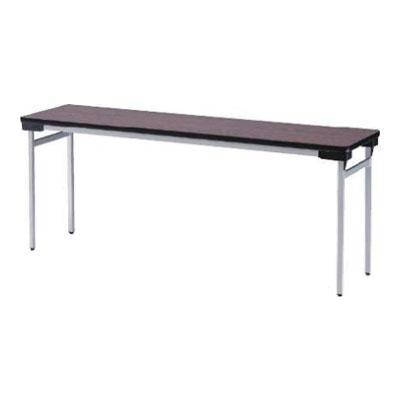 TFWシリーズ 折りたたみテーブル ゆったり座れるワイドタイプ スチール脚タイプ 棚なし 幅1500×奥行600×高さ700mm 会議テーブル / TFW-1560N