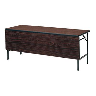 TWSシリーズ 折りたたみテーブル 棚付き TWSシリーズ 折りたたみテーブル 棚付き パネル付 幅1500×奥行450mm