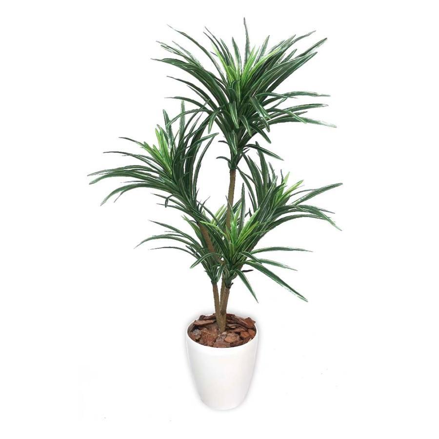 【ササガワ】 <人工観葉植物> ユッカ Mサイズ 32-8716