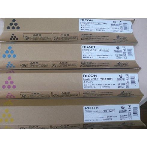 送料無料! RICOH リコー トナー MP C2201用 4色セット officemachine