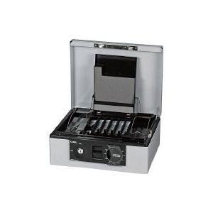 キャッシュボックス B5 ライトグレー ライトグレー 外寸W305×D247×H135mm CB-8660-L