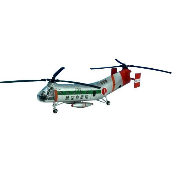 (同梱不可)KBウィングス(PCT) H-21B 航空自衛隊 救難航空隊 1/72スケール KBW72104 模型 救難 フライングバナナ