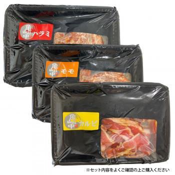 () (同梱)亀山社中 焼肉 バーベキューセット 4 はさみ・説明書付き 行楽時 小分け お肉