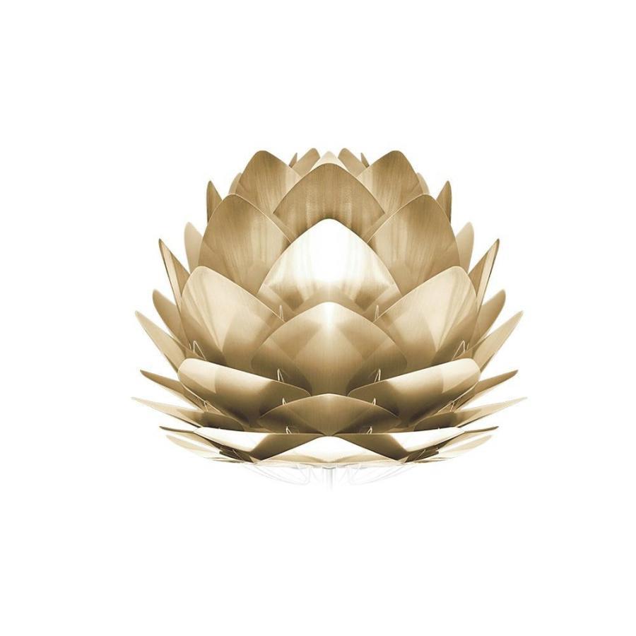 (代引不可) (代引不可) (同梱不可)ELUX(エルックス) VITA(ヴィータ) シルヴィアミニブラッシュドブラス テーブルライト ホワイトコード 02071-TL 置き型 ゴージャス おしゃ