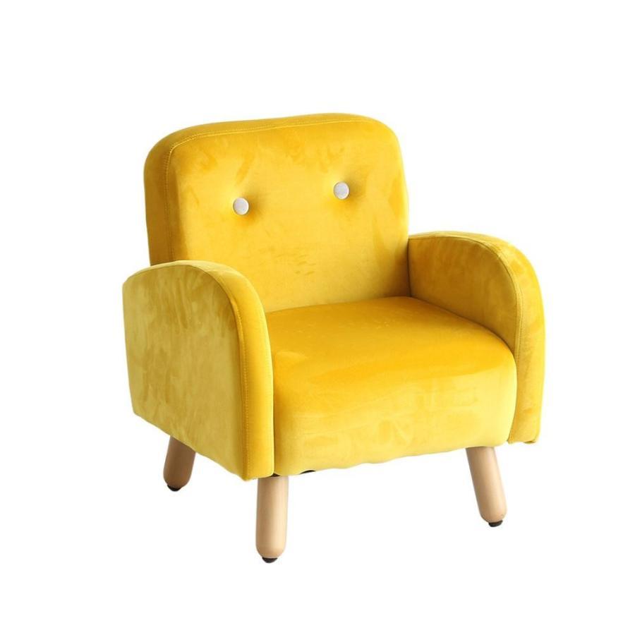 (代引不可) (同梱不可)キッズパーソナルソファ イエロー HLI-5005YL かわいい 椅子 椅子 キッズチェア