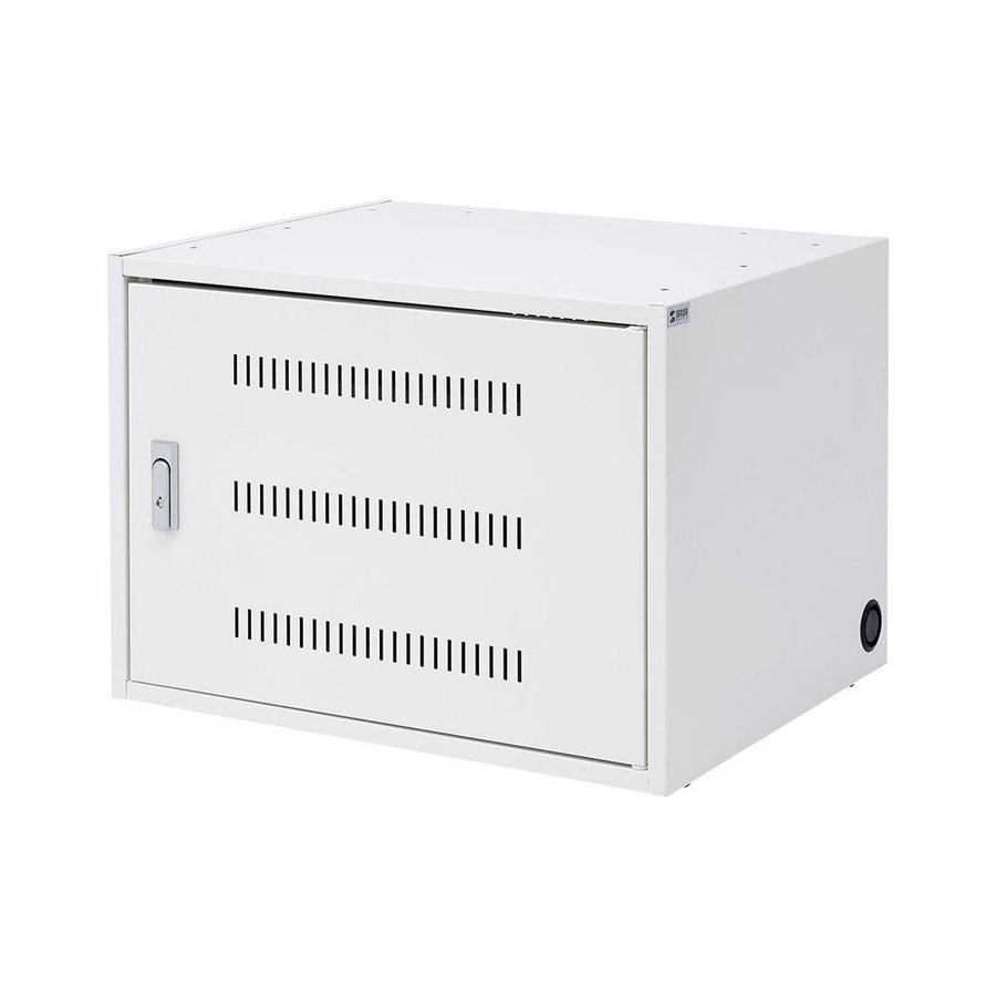 (代引不可) (同梱不可)サンワサプライ タブレット収納保管庫(21台収納) CAI-CAB101W ラック 棚 保管 保管