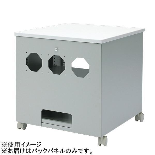 (同梱不可)サンワサプライ バックパネル(CP-019N用) CP-019N-2K CP-019N-2K 鍵付き スチール 防犯