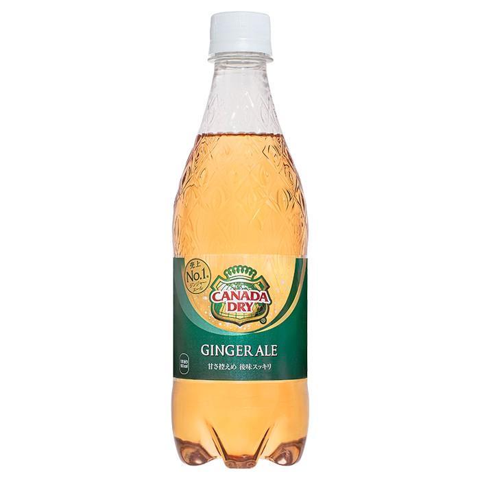 Coca-Cola カナダドライ ジンジャーエール 500mlPET×24本|official-hokkaido