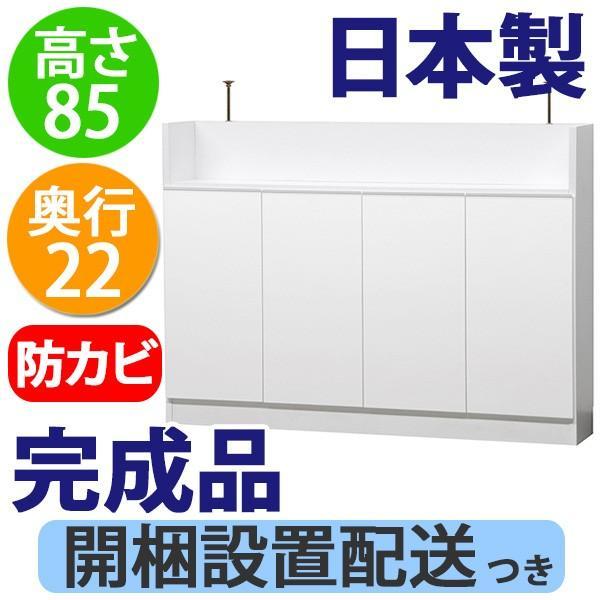 薄型 カウンター下収納 扉タイプ幅120|ogamoku