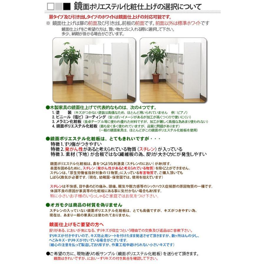 薄型 カウンター下収納 扉タイプ幅120|ogamoku|12