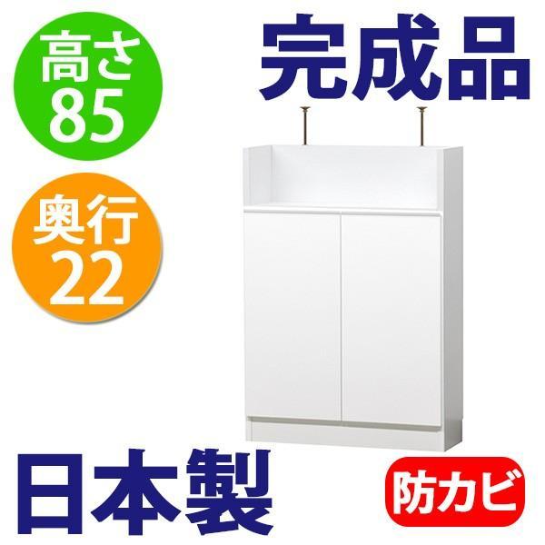 薄型 カウンター下収納 扉タイプ幅60 ogamoku