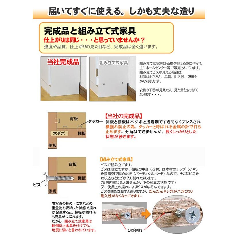 カウンター下収納・扉タイプ90|ogamoku|09