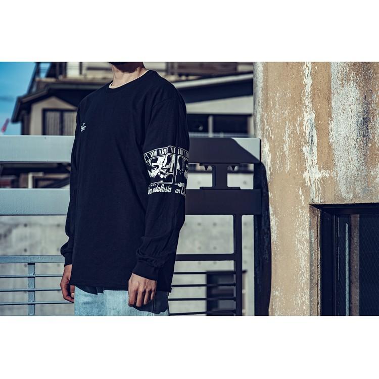 PIXIES ピクシーズ Debaser 「Un Chien Andalou」アンダルシアの犬 ロングスリーブTシャツ 長袖Tシャツ ロンT USA BIG SIZE  袖プリント|oguoy|02