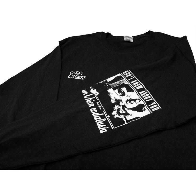 PIXIES ピクシーズ Debaser 「Un Chien Andalou」アンダルシアの犬 ロングスリーブTシャツ 長袖Tシャツ ロンT USA BIG SIZE  袖プリント|oguoy|11