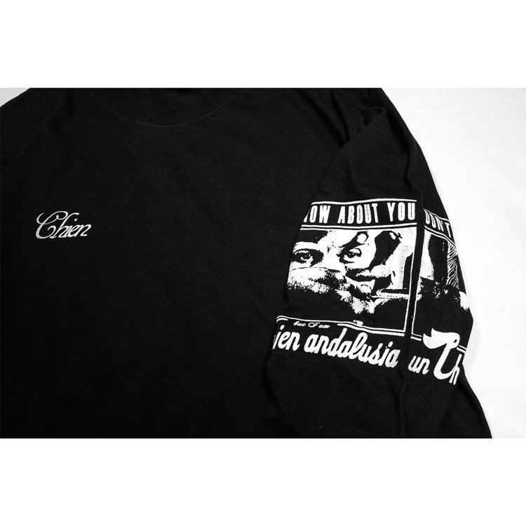 PIXIES ピクシーズ Debaser 「Un Chien Andalou」アンダルシアの犬 ロングスリーブTシャツ 長袖Tシャツ ロンT USA BIG SIZE  袖プリント|oguoy|07