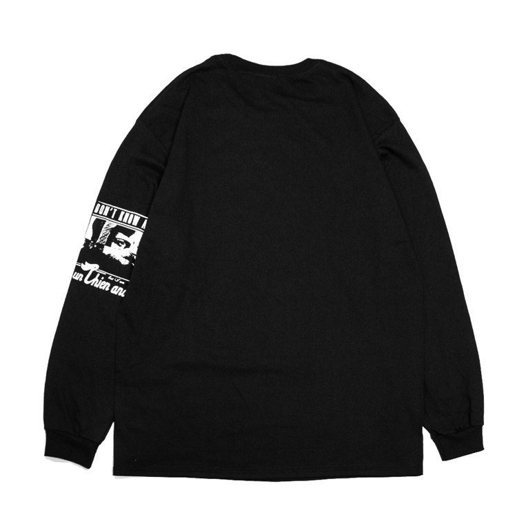 PIXIES ピクシーズ Debaser 「Un Chien Andalou」アンダルシアの犬 ロングスリーブTシャツ 長袖Tシャツ ロンT USA BIG SIZE  袖プリント|oguoy|10