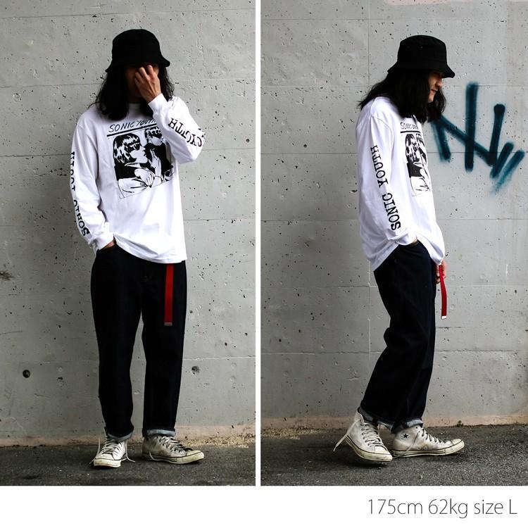 Sonic youth 「GOO 」「ソニックユース」 「オルタナ グランジ 」 ロンT 長袖Tシャツ 袖プリント オーバーサイズ BIG SIZE|oguoy|03