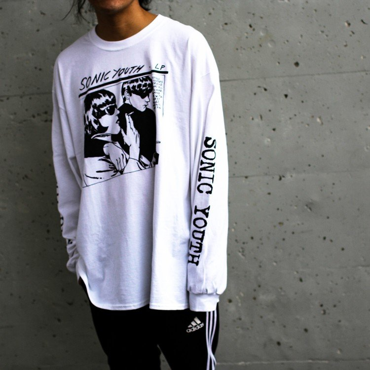Sonic youth 「GOO 」「ソニックユース」 「オルタナ グランジ 」 ロンT 長袖Tシャツ 袖プリント オーバーサイズ BIG SIZE|oguoy|04