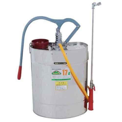 噴霧器 17L 背負式 ステンレスタンク (消毒剤/剥離剤/除草剤)[噴霧機 ガーデニング]
