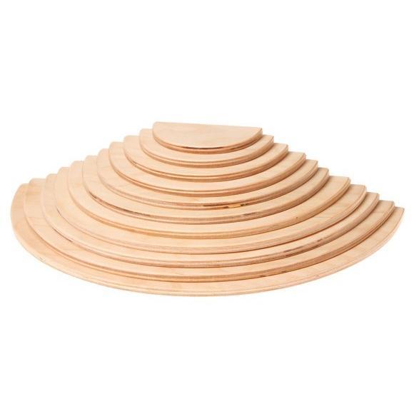 グリムス 半円盤 ナチュラル( Large Semicircles, natural ) ohisamaya