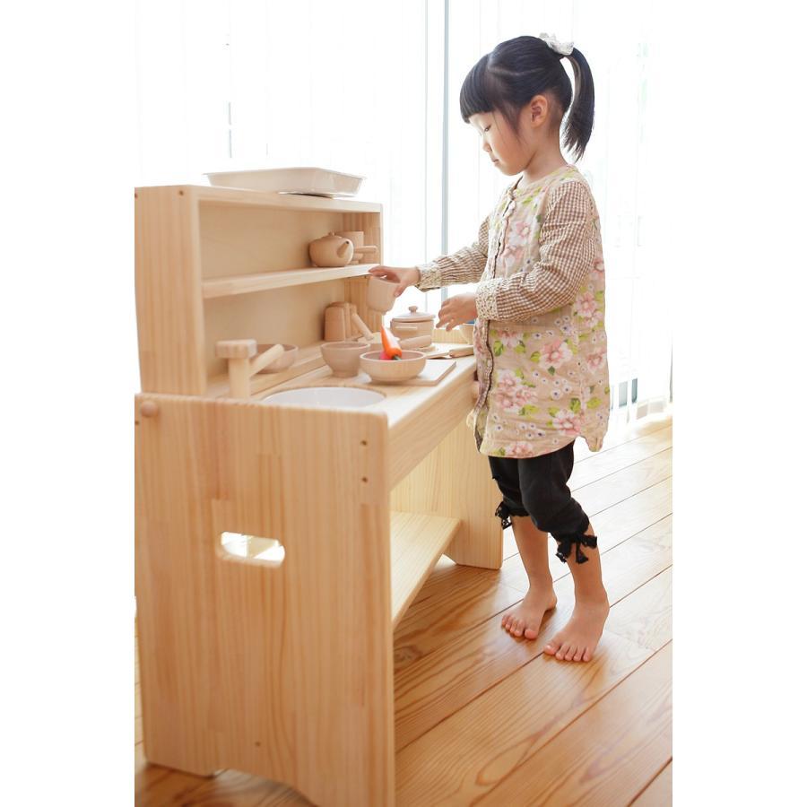 木遊舎 おままごとキッチン(組立式)|ohisamaya|04