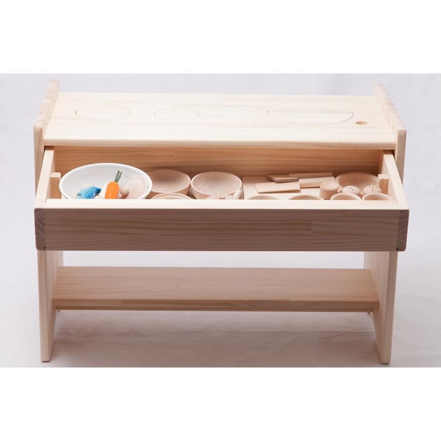 木遊舎 おままごとキッチン(組立式)|ohisamaya|05
