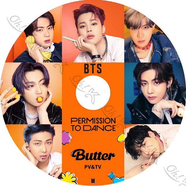 K-POP DVD BTS 2021 3rd PV/TV - My Universe permission to dance Butter Life Goes On Dynamite ON MAKE IT RIGHT - 防弾少年団 バンタ PV KPOP DVD|ohk